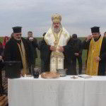 Bishop Inokentiy blessed vineyards of Klas OOD